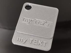 Customizable Material Sample