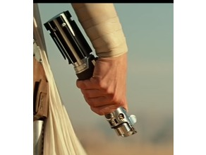 Rey's Reforged Graflex Lightsaber