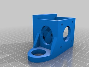 X Carriage Extruder Mount