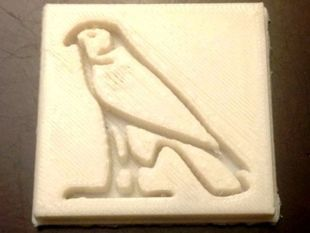 Hawk hieroglyph