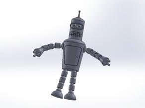 Bender Bending Rodriguez (Solid Works)