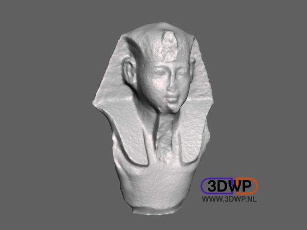 Egyptian Statue 3D Scan