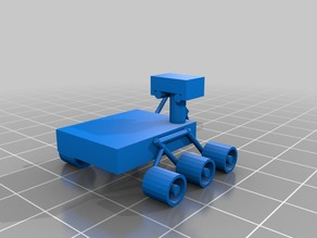 3DBear Mars Explorer rover - a Mars rover remix