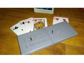 Card holder & Cribbage board