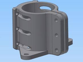 MPCNC 525 52mm Spindle mount for dust collection