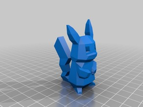 Low-Poly Pikachu by FLOWALISTIK - Remix