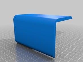 Ikea lack table enclosure- leg bracket