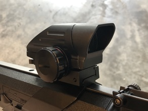 Airsoft Lens protector for Dagger Defense red dot sight