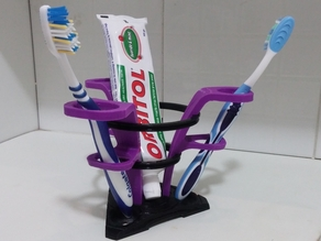 Bellflower Toothbrush Stand