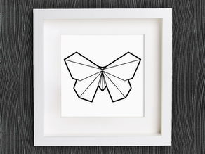 Customizable Origami Butterfly