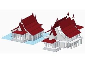 Thai Temple 3D Building Set