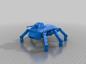 Ant  WAPC sci-fi walking troop transport for 28mm sci-fi wargames or sci-fi mdel making