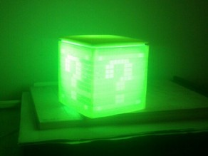 Mario Questionbox Lamp