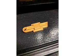 Chevy Bow Tie Keychain