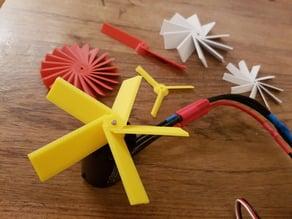 Customizable propeller / fan