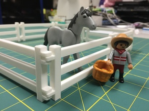 Playmobil Fence and Gate