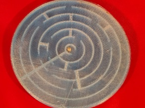 Round tuit puzzle maze