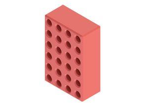 123 Block, 3D Printing Optimized