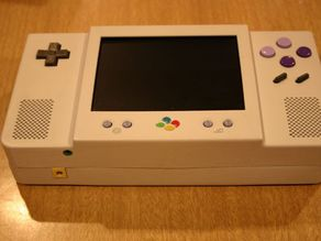 Super Nintendo Portable Case