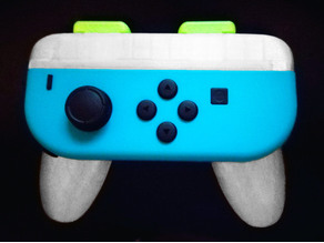 Modified Nintendo Switch Joy-con grip (remixed)