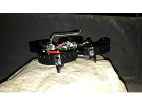 Semi Ducted Micro Frame (Beecheese Frame V3)(cam mount integrated)