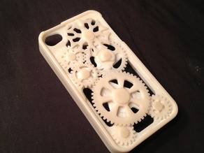 Improved! iPhone Gear Case with Geneva Mechanism