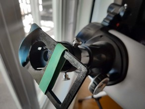 Telescope eye piece adaptor for smartphone