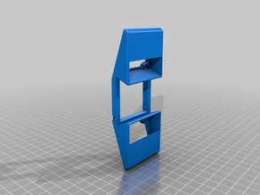 Double Fan Holder for Zaxe 3D Printer