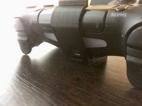 PS4 Controller wall mount with charge hole