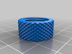knurled nuts Z coupler 8 - 5 mm