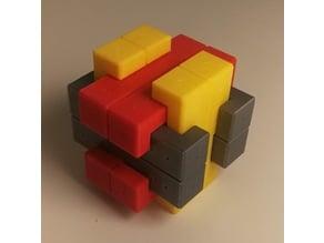 Tricky 12 piece burr puzzle.