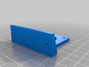 MK8 Extruder mount for 2020 profiles