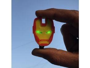 Iron Man Led eyes keychain