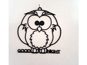 Gufo / Owl wall art