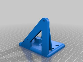 My Customized ANET A8    E3D v6 Carriage /  Bowden Mount
