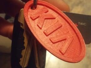 Kia Logo Keychain