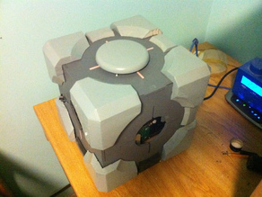 Weighted Companion Cube Computer Case