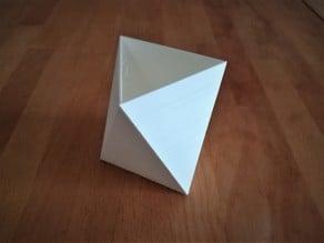 Parametric Octaedron Vase