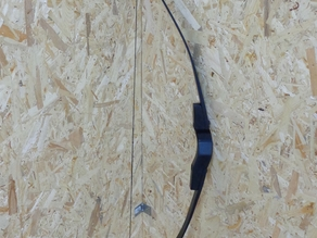 Bow handle fully printable