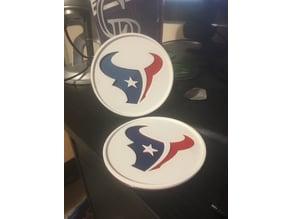 Houston Texans Coaster