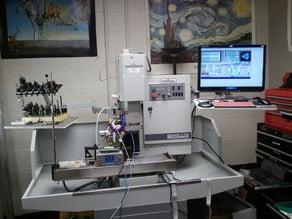 3D Printing on CNC using Mach3