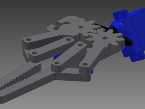 Simple arm gripper for your robot
