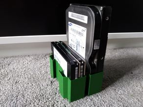 "modular HDD storage 3.5"" and 2.5"""