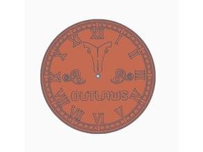 Houston Outlaws Clock - Overwatch League