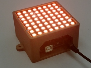 NeoPixel NeoMatrix 8x8 - 64 RGB Arduino box