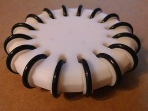 Omni Wheel with O-Rings