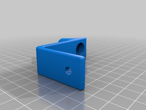 Small speaker rod mount