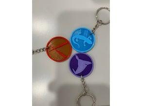 Keychain_HP:Wizards Unite Profession