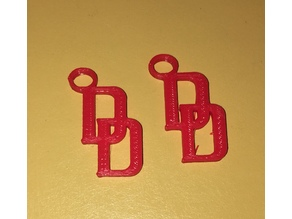 Daredevil Earrings or small key chain
