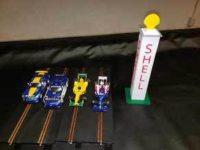 1/32 Nurburgring Shell tower/turm